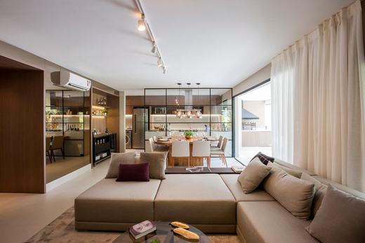 Living - Cobertura à venda Rua Havaí,Perdizes, São Paulo - R$ 3.334.194 - II-1475-5635 - 10