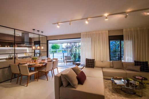 Living - Cobertura à venda Rua Havaí,Perdizes, São Paulo - R$ 3.334.194 - II-1475-5635 - 12