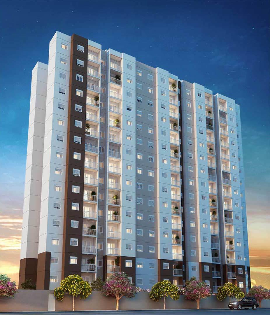Apartamento residencial para venda, Jardim Campanário, Diadema - AP6532.
