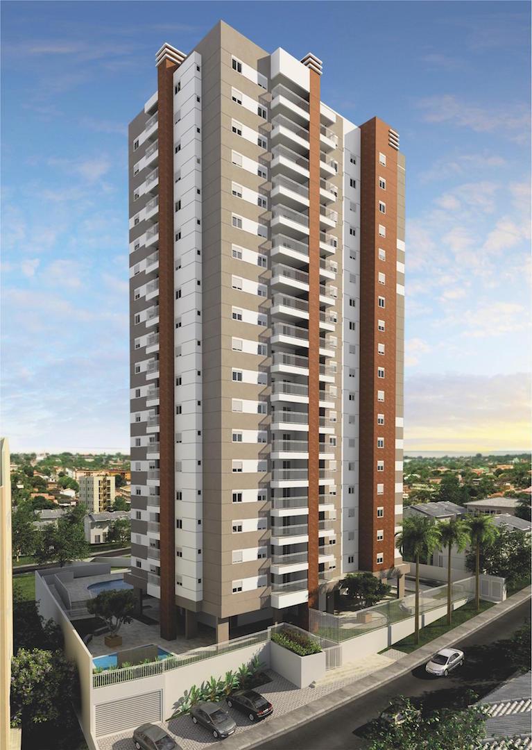 Apartamento residencial para venda, Vila Valparaíso, Santo André - AP5871.