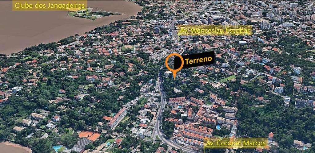 Terreno/Lote Residencial Sétimo Céu Porto Alegre