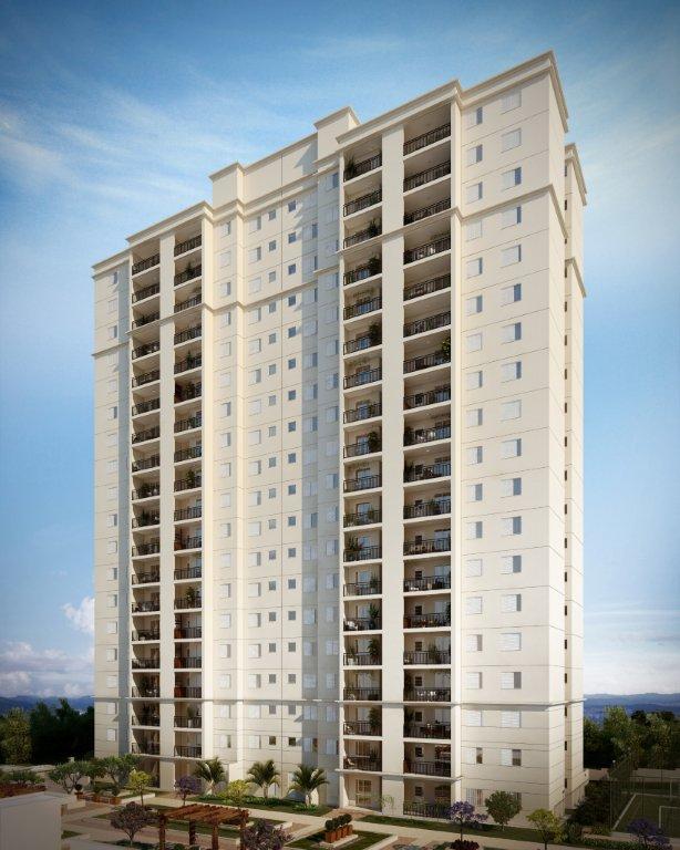 Apartamento residencial para venda, Chácara Agrindus, Taboão da Serra - AP6559.