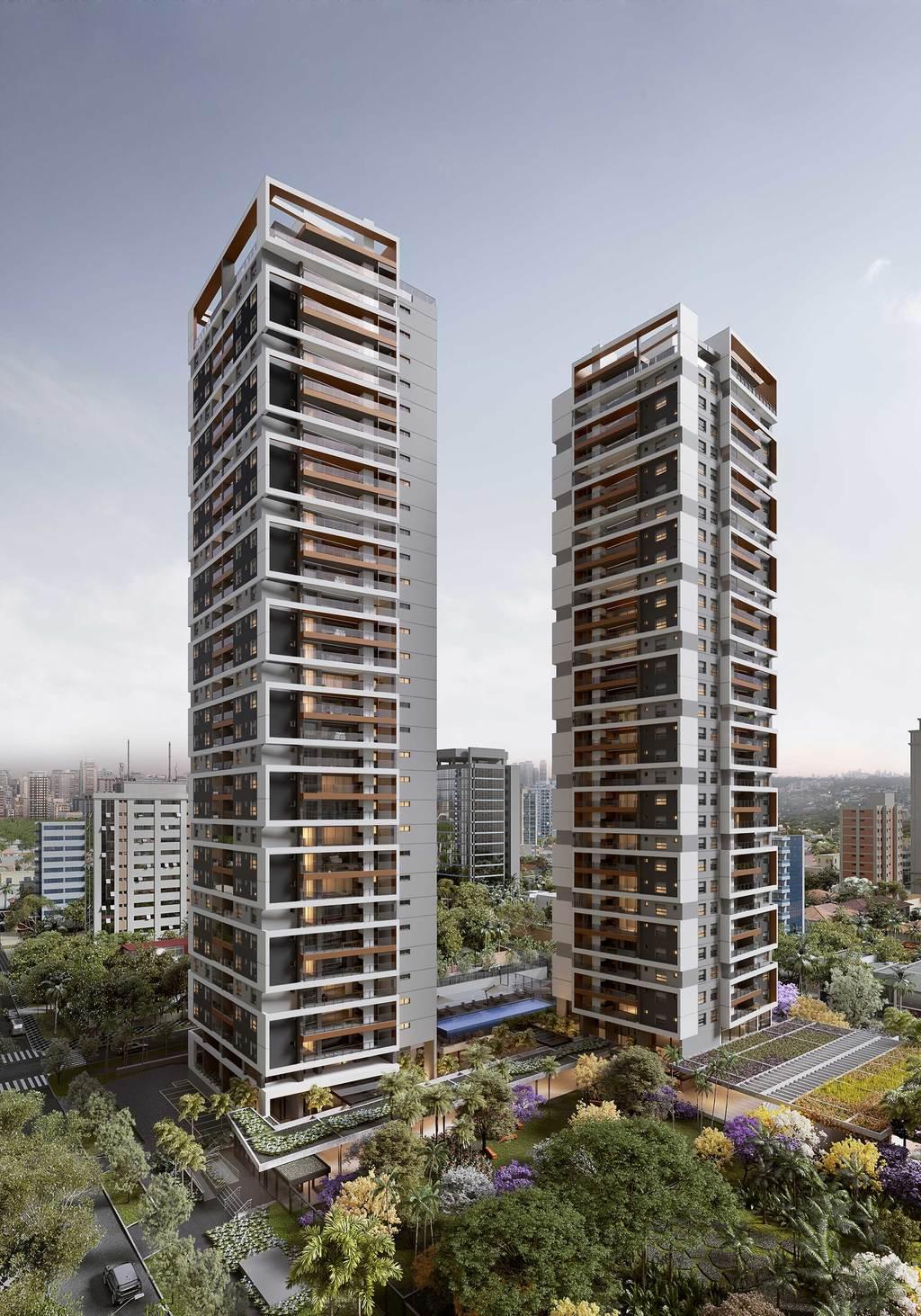 Apartamento residencial para venda, Brooklin Paulista, São P
