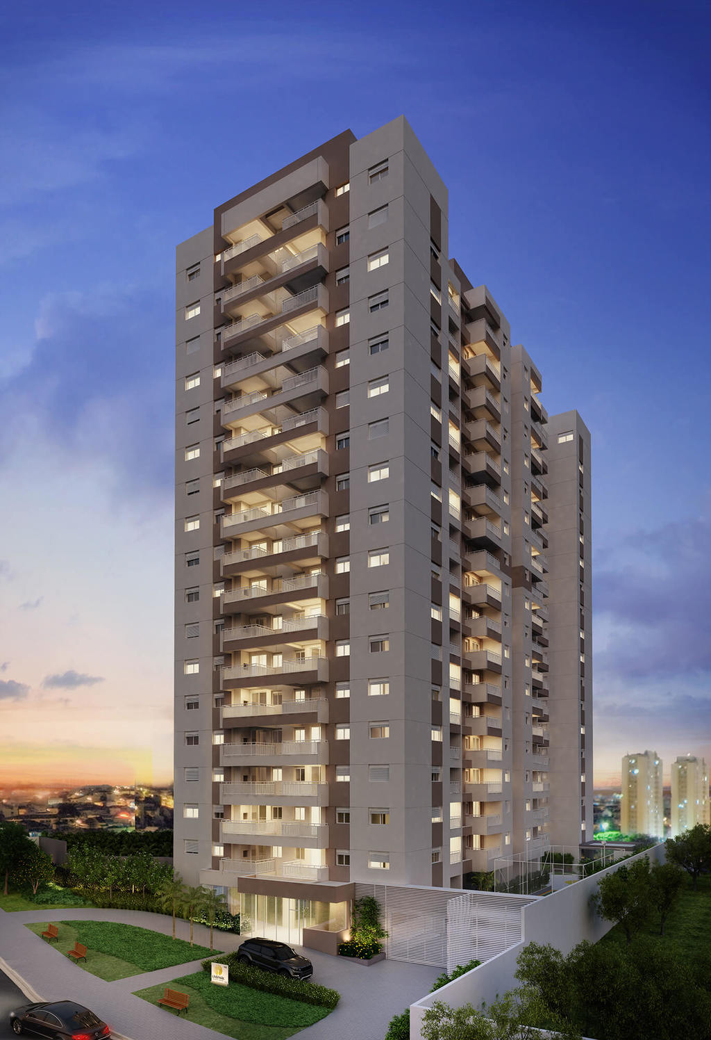 Apartamento residencial para venda, Vila Apiaí, Santo André - AP6202.