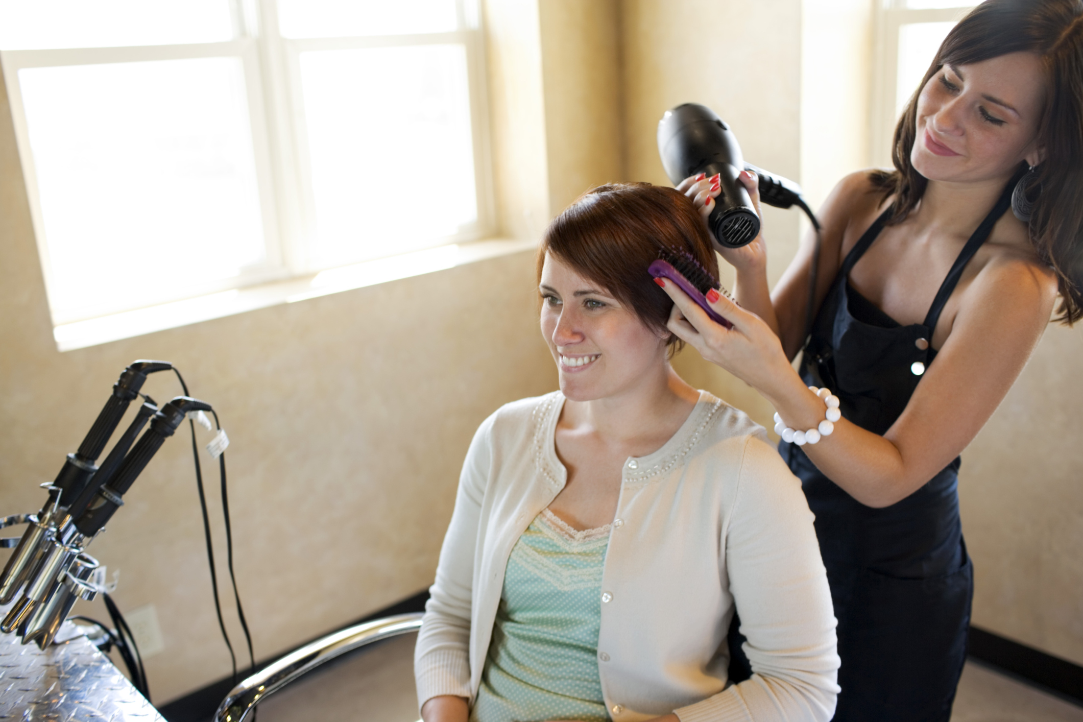 Courses for hairdressers - study colors