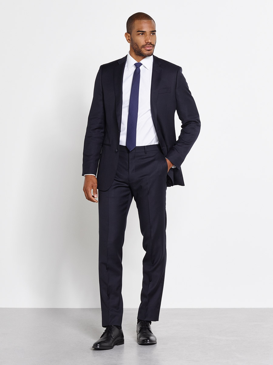 Premium suit tuxedo rentals delivered the black tux Architect suit