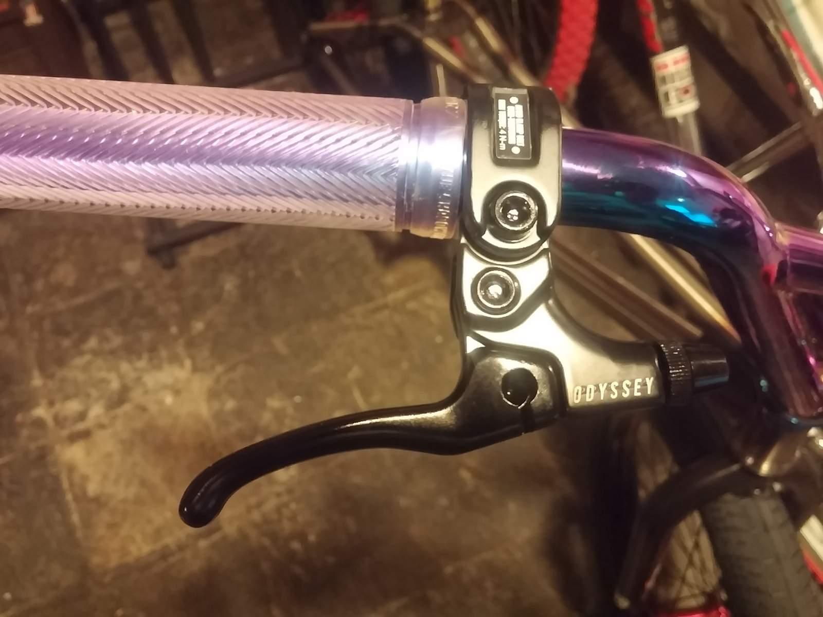 Tektro BMX Brake Levers Hinged —AUS STOCK— 2 Fingers Bike Bicycle U Caliper