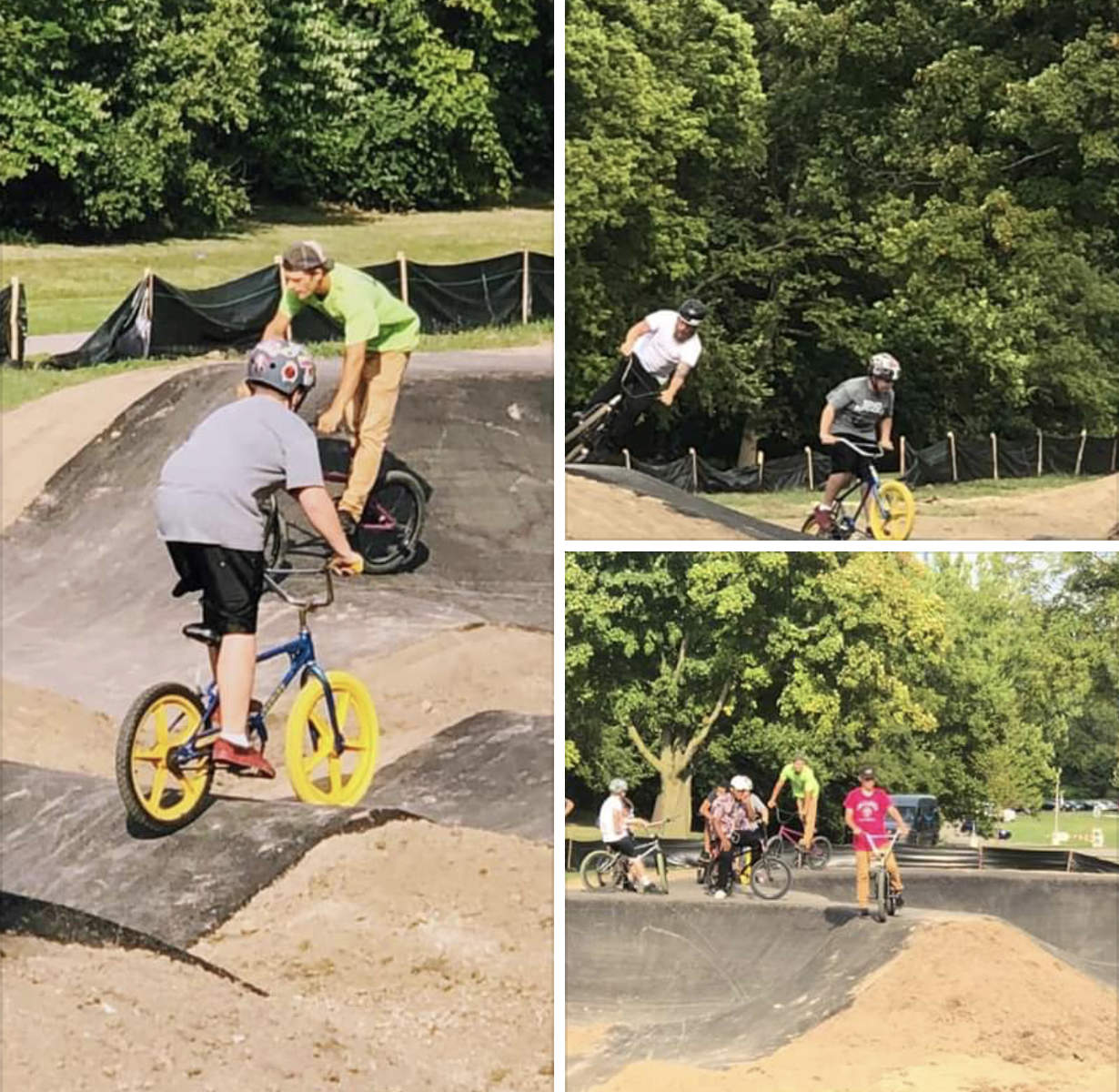 New Pump Track At Hines Park Detroit Area Riders Bmxmuseum Com Forums