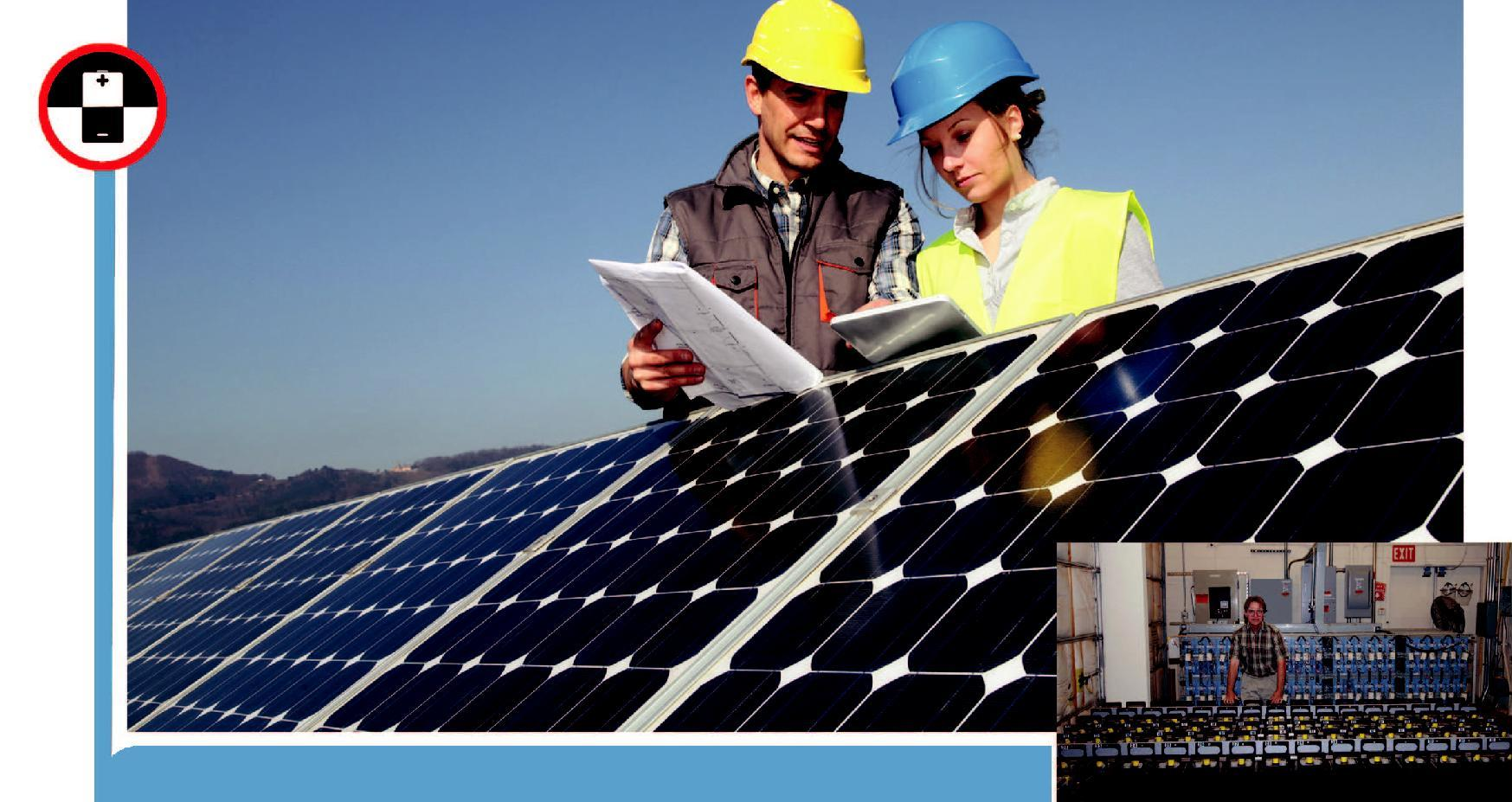 Solar Panel Installation Technician: The individual at work checks the installation site,understands the layout requirement as per design, assesses precautionary measures to be taken, installs the solar panel as per customer's requirement and ensures effe