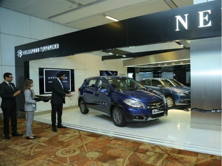 Maruti Suzuki Inaugurates MyNEXA Concierge Lounge At T3 IGI Airport. EXA Concierge is a new exclusive lounge by Maruti Suzuki for customers who enrol under the MyNEXA loyalty programme