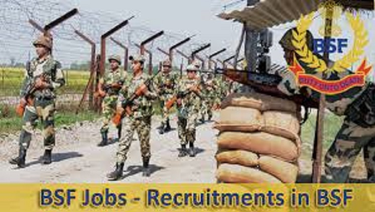 BSF Recruitment Notification for 1206 Constable Vacancy