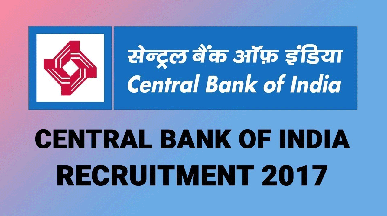 Central Bank of India - Recruitment - Chief Information Security Officer (CISO) - Apply Offline - Last Date 22 December 2017