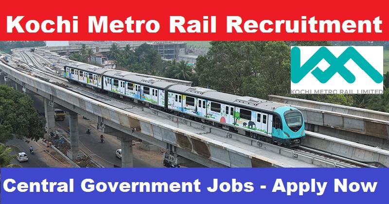 Kochi Metro Rail Limited - KMRL Recruitment - Senior Deputy General Manager - Apply Online - Last Date 03 January 2018