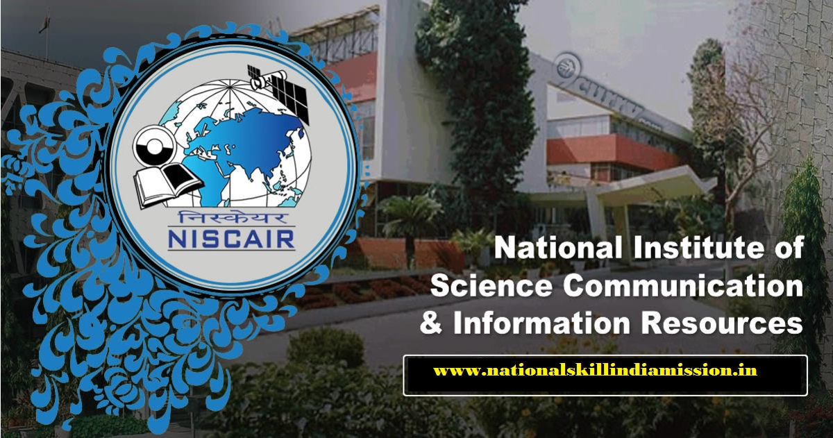 National Institute of Science Communication and Information Resources - NISCAIR Recruitment - 11 Research Interns -  Walk-in-Interview 08 January 2018