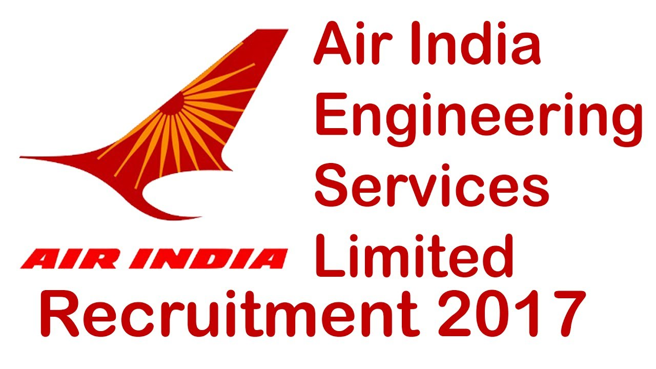 Air India Engineering Services Limited - AIESL Recruitment - 417 Aircraft Technician & Skilled Trades Men - Last Date 02 & 03 January 2018
