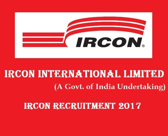 Ircon International Limited - Ircon Recruitment - 10 Geologist - Apply before 04 January 2018