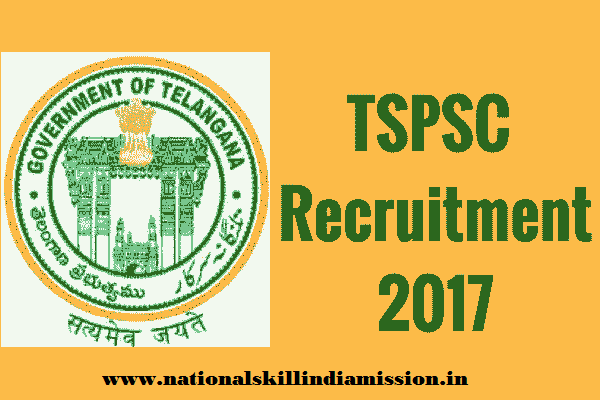 Telangana State Public Service Commission - TSPSC Recruitment - 79 Extension Officer Grade-I - Apply Online - Last Date 24 January 2018