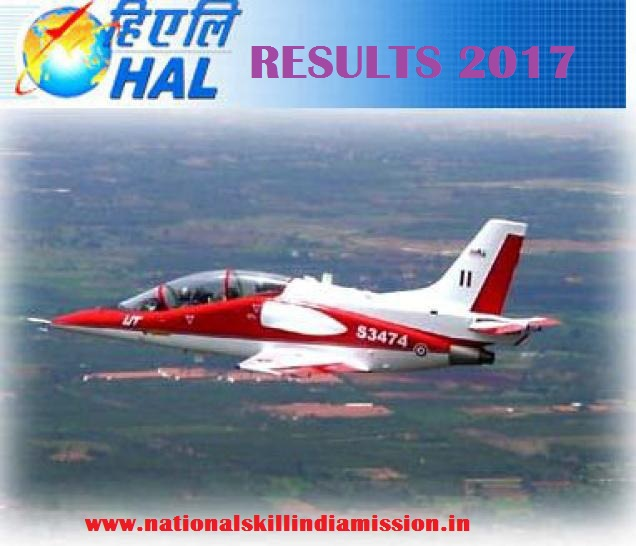 HAL – Sr Medical Officer (OB&G) Final Results 2017