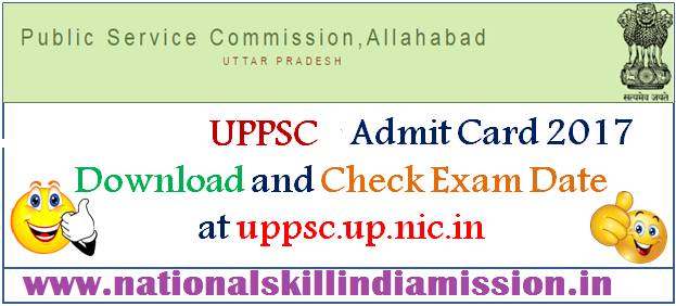 UPPSC – APO Exam 2015 Interview -Admit Card 2017