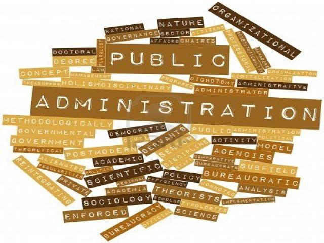 B.A. Public Administration