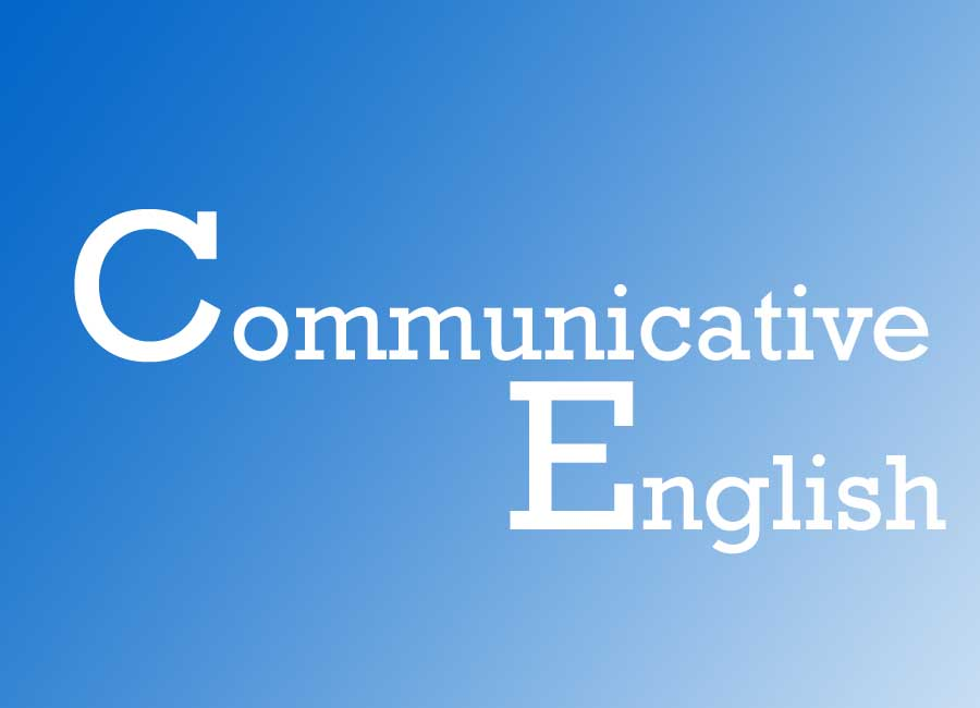 B.A. Communicative English
