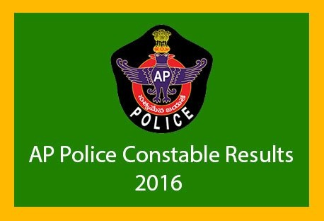 AP Police PC Communications 2016 Written Test Results Published