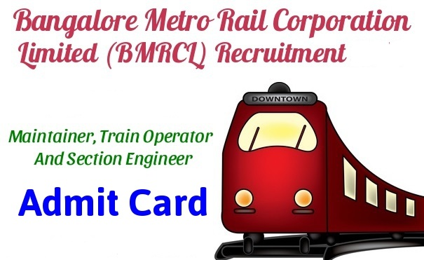 BMRC Admit Card 2017 – Section Engineer & Maintainer DV  Admit Card Released!!!
