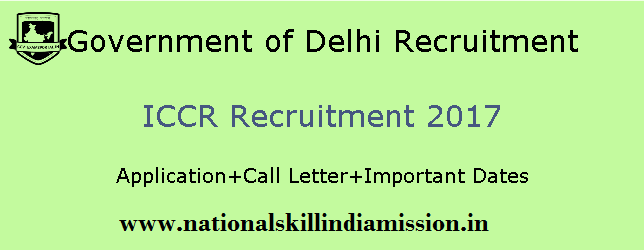 M.A Jobs-Indian Council for Cultural Relation-ICCR Recruitment-Editor-Pay Scale : Rs. 25000/-Last date 10 March 2017