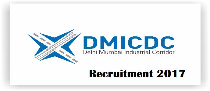 MBA Jobs-Delhi Mumbai Industrial Corridor Development Corporation-DMICDC Recruitment-Chief Operating Officer-Last Date 20 March 2017