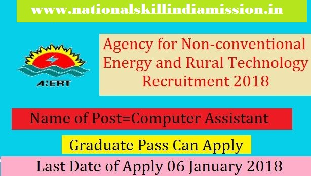 Agency for Non-conventional Energy and Rural Technology - ANERT Recruitment - 14 Project Coordinator, Computer Assistant & Various Vacancy - Apply Online