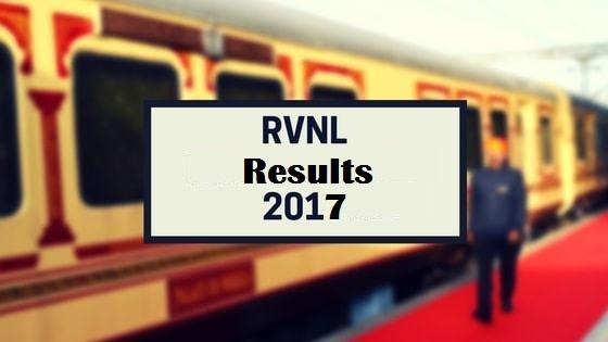 RVNL – Site Engineer Screening Test 2017- Result Published