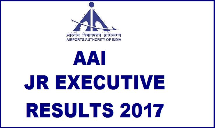 AAI – Jr Executive (HR) Interview 2017-list Released