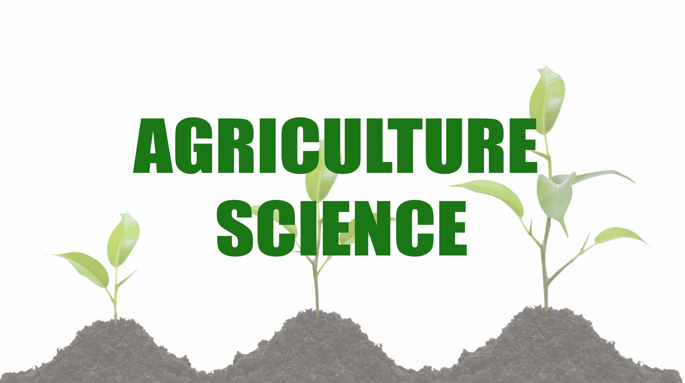 BSS Diploma in agriculture Science