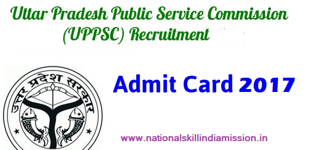 UPPSC – Technical Asst Geology Interview Admit Card 2017