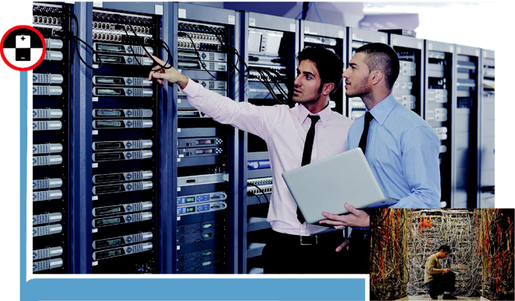 Field Technician – Networking and Storage;The individual at work is responsible for attending to customer complaints, installing newly purchased products, troubleshooting system problems and, configuring hardware equipment such as servers, storage and oth
