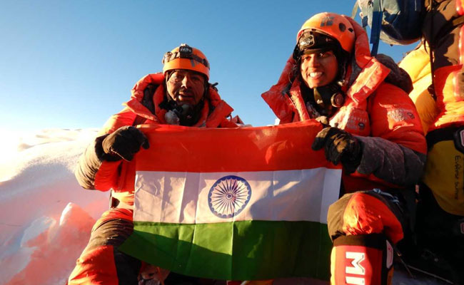 First Indian Father and Daughter conquered Mount Everest