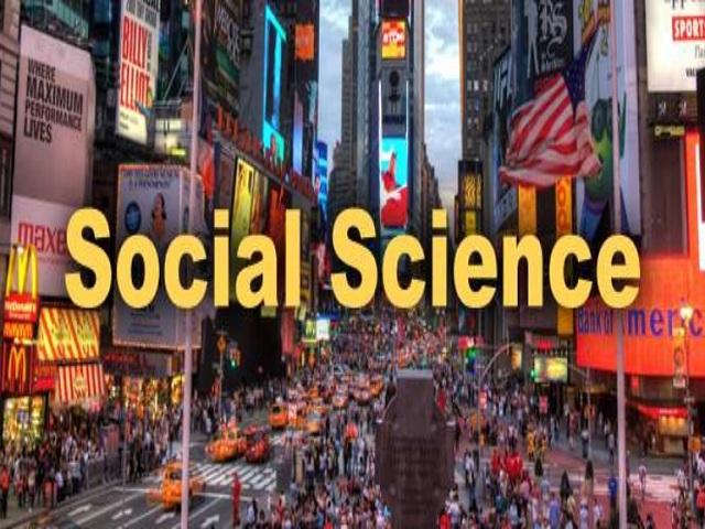 B.A. Social Science