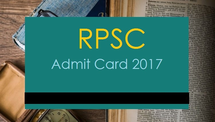 RPSC Admit Card 2017 – Clerk Gr-II Comb Comp Exam 2013 (Phase-II) Typing Test Call Letter Out!!!