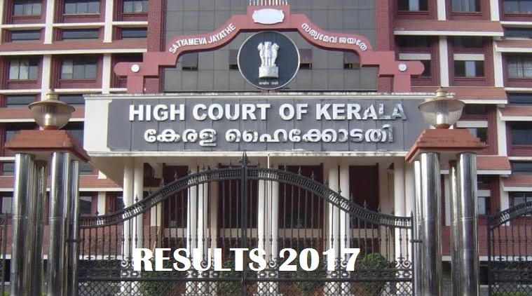Kerala High Court Results 2017 – Research Assistant Interview List Published!!!