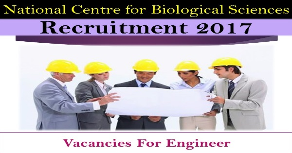 BE / B.Tech/Diploma/B.Sc Jobs-NCBS Recruitment-National Centre for Biological Sciences-Technical Assistant-31 Vacancies-Walk-in- Test-15 to 17 March 2017