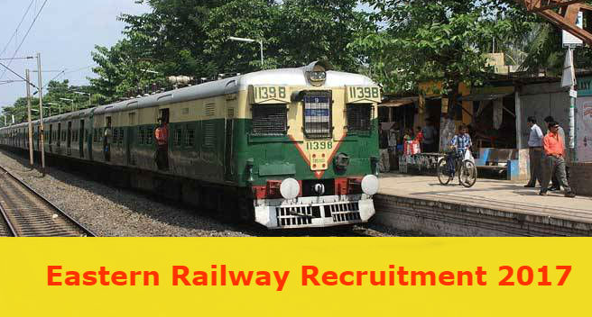 Eastern Railway Recruitment - 863 Apprentice - Apply before 07 December 2017