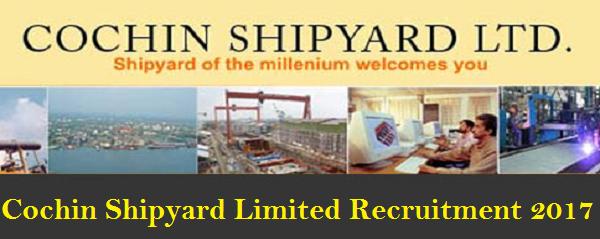 sslc/diploma jobs - cochin shipyard limited - recruitment - 15