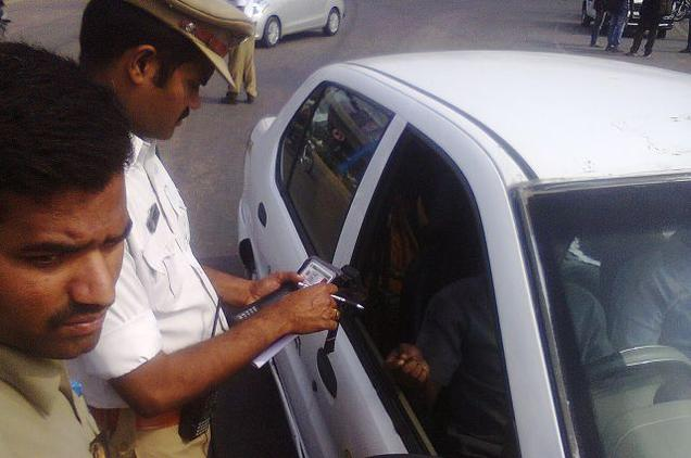 Procedure for getting Driver's license for transport vehicle with Badge number