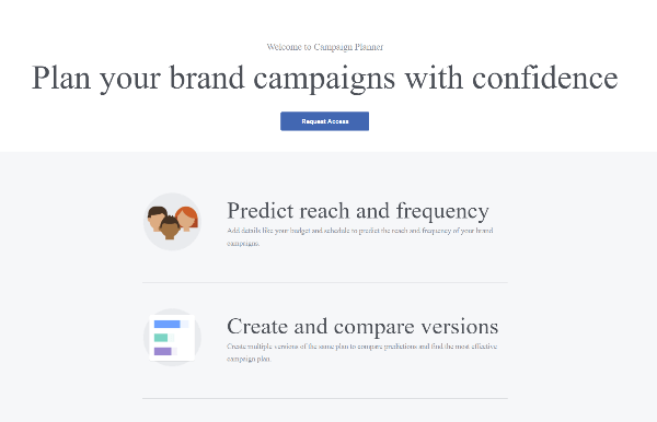 Facebook Launches Campaign Planner Ad Tool for Facebook and Instagram