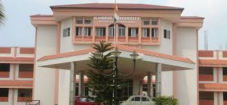 Kannur University was established by the Act 22 of 1996 of Kerala Legislative Assembly.  The University by the name