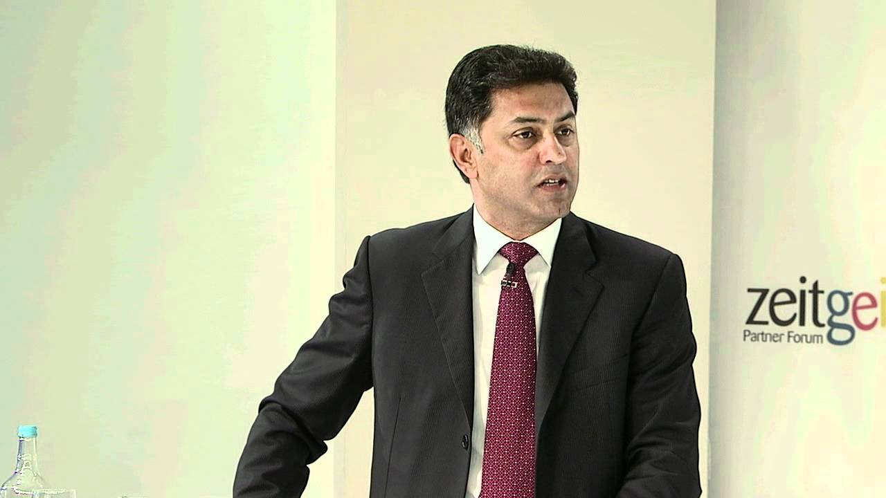 Nikesh Arora - Biography