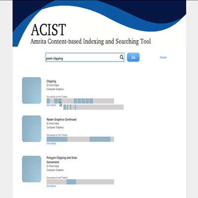 ACIST : Amrita Content based Indexing and Searching Tool