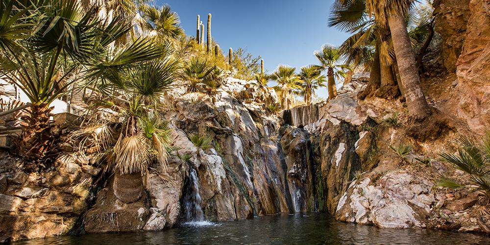 Castle Hot Springs, Sonoran Desert, AZ