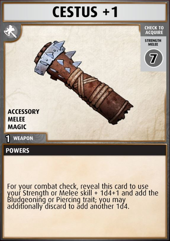 A Fighter's Tale boon cards - Pathfinder Adventures