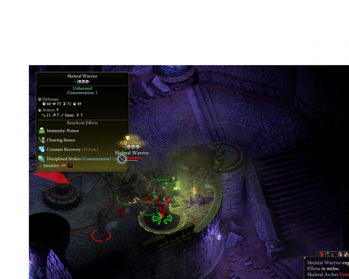 BS skeleton fight - Pillars of Eternity II: Deadfire General